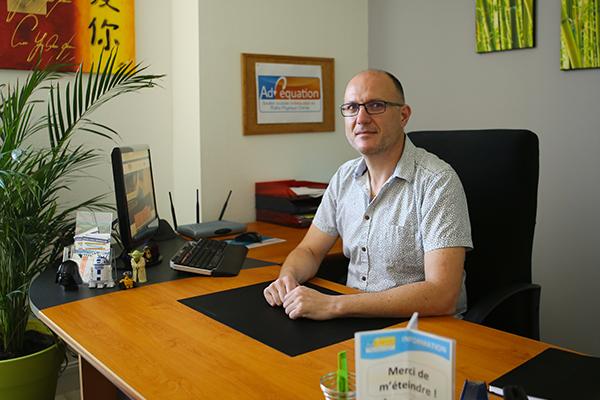 Stéphane Clochard, professeur au centre de soutien scolaire Adéquation à Angoulême
